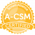 Advanced Certified ScrumMaster (A-CSM)​